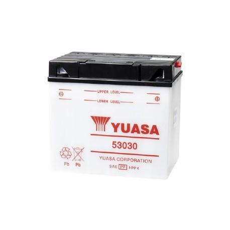 Batterie moto Yuasa Yumicron 12V / 30Ah Y60-N30L-A/53030