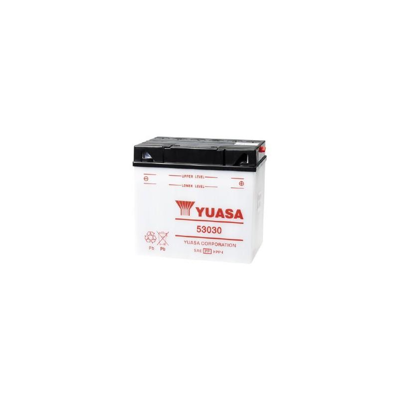 batterie moto yuasa 53030