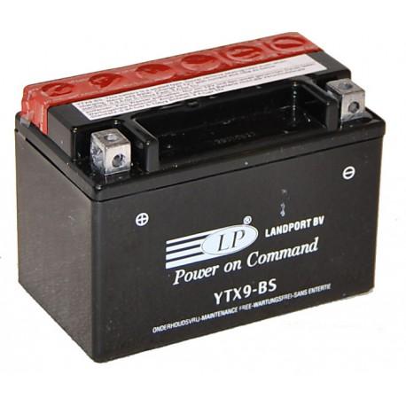 Batterie moto 12V 8Ah sans entretien YTX9-BS / GTX9-BS