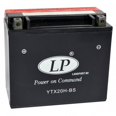 Batterie moto 12V 18Ah sans entretien YTX20H-BS / GTX20H-BS