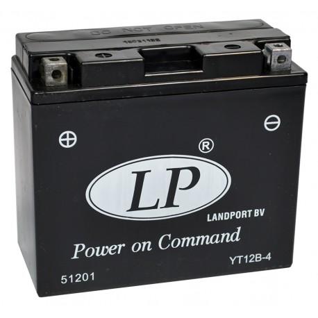 Batterie moto 12V 10Ah Gel YT12B-4 / GT12B-4