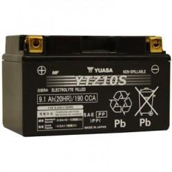 Batterie moto Yuasa 12V 8,6Ah AGM YTZ10S / GTZ10S