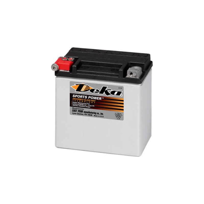 Batterie Harley AGM Deka 12V/12Ah ETX14 - Batteries Moto