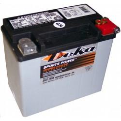 Batterie Harley AGM Deka / MagnaPower 12V/19Ah ETX16L