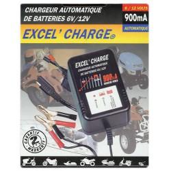 Chargeur automatique 6V/12V - 900mA XL900