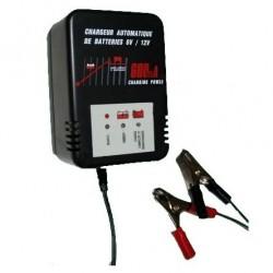 Chargeur automatique 6V/12V - 600mA XL600