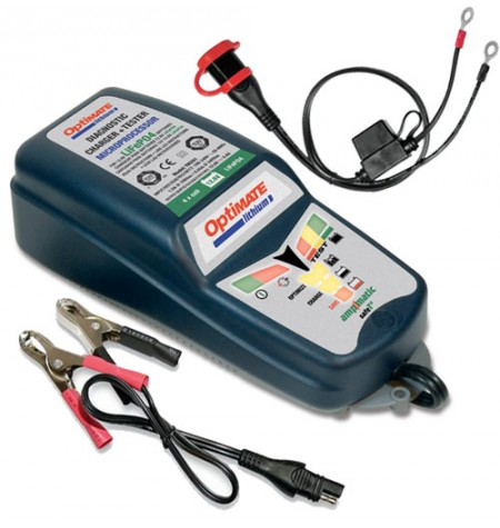 Chargeur / Optimiseur 12V - 5A Optimate Lithium