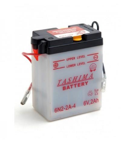 Batterie moto 6V / 2Ah avec entretien 6N2-2A-4