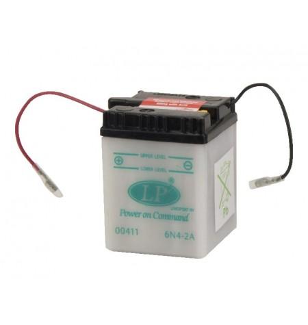 Batterie moto 6V / 4Ah avec entretien 6N4-2A