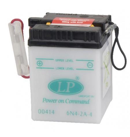 Batterie moto 6V / 4Ah avec entretien 6N4-2A-4