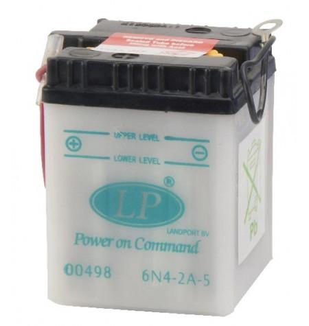 Batterie moto 6V / 4Ah avec entretien 6N4-2A-5