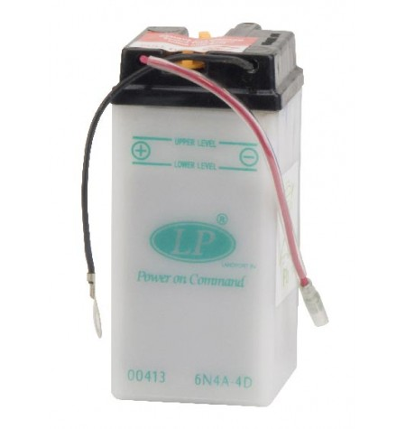 Batterie moto 6V / 4Ah avec entretien 6N4A-4D