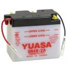Batterie moto Yuasa 6V / 4Ah avec entretien 6N4B-2A