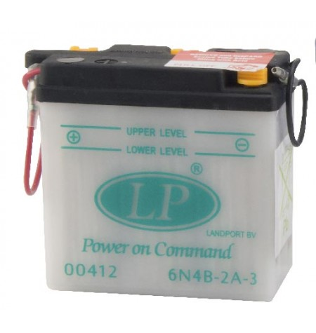 Batterie moto 6V / 4Ah avec entretien 6N4B-2A-3