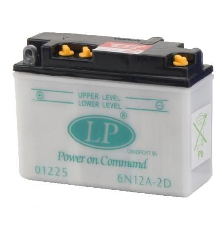 Batterie moto 6V / 12Ah avec entretien 6N12A-2D