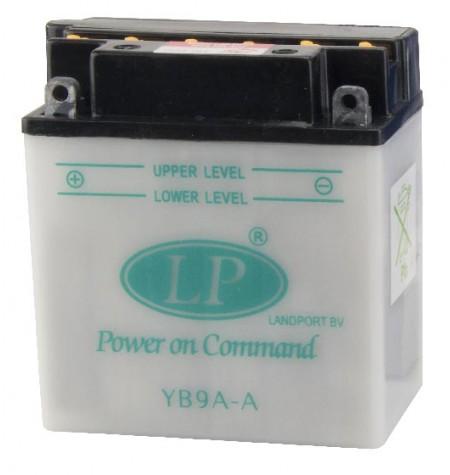 Batterie moto renforcée 12V / 9Ah avec entretien YB9A-A
