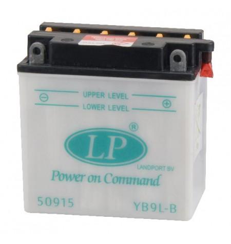 Batterie moto renforcée 12V / 9Ah avec entretien YB9L-B
