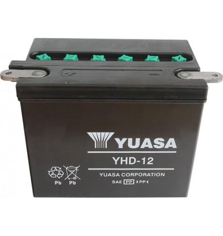 Batterie moto Yuasa 12V / 28Ah avec entretien YHD-12 / YHD4-12