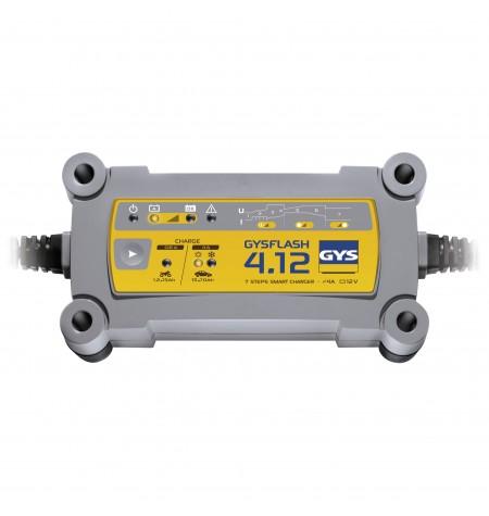 Chargeur automatique 12V - Auto/Moto GysFlash 4.12