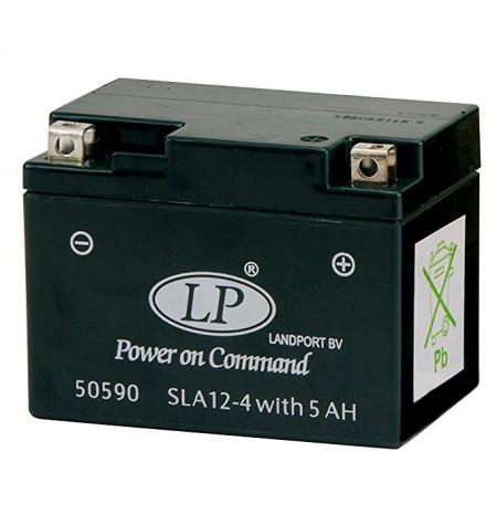 Batterie moto 12V / 5Ah AGM SLA12-4S