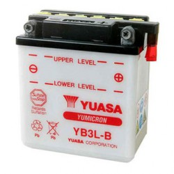 Batterie moto Yuasa Yumicron 12V / 3Ah avec entretien YB3L-B