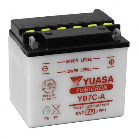 Batterie Yuasa Yumicron 12V / 8Ah avec entretien YB7C-A