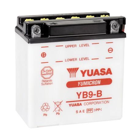 Batterie moto renforcée 12V / 9Ah avec entretien YB9-B