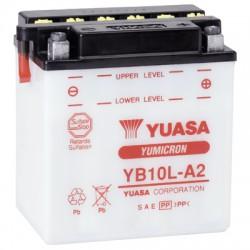 Batterie moto Yuasa Yumicron 12V / 11Ah avec entretien YB10L-A2