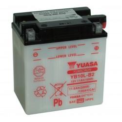 Batterie moto Yuasa Yumicron 12V / 11Ah avec entretien YB10L-B2